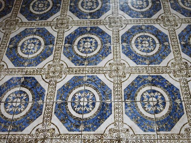 Piso de azulejos portugueses