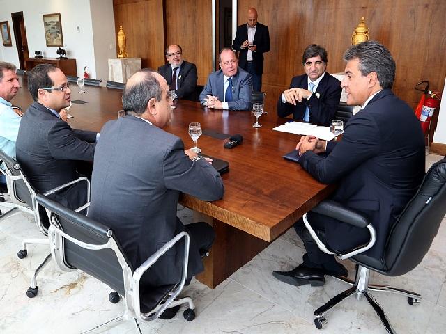 Encontro Governador Beto Richa e Carlos Martins