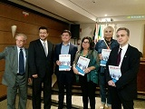 Forum API_Rafael de Lala-jornalista associado a API -Jean Carlos Alberini - Gina Paladino -Gladys Franca -Adriano Fonseca_Capa