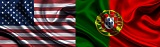 Bandeiras de Portugal e EUA_Capa