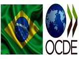 Bandeira Brasil e OCDE