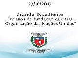 Abertura Sessao 72a Aniversario da ONU ALEP Curitiba 23-10-17_Capa