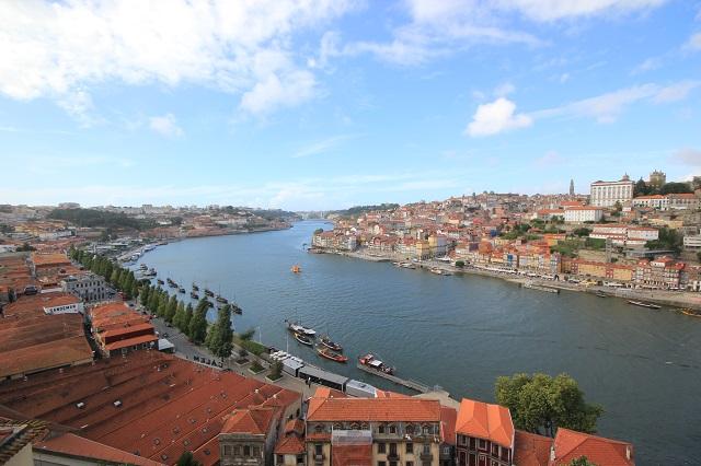 Turismo Portugal Vista Rio Douro Porto