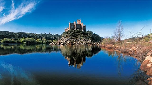 Paisagem do Centro de Portugal - Castelo de Almourol