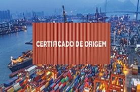 Certificado de Origem para Exportação