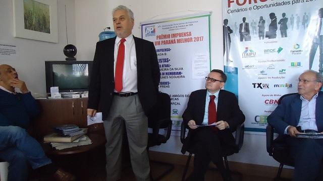 Saudação de abertura Dr. Antônio Athayde da CCBP-PR no evento restauração de Portugal e sua influência no Brasil