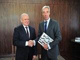 Presidente da Alep_Ademar Traiano_recebe o embaixador da Uniao Europeia_ Joao Gomes Cravinho_Capa