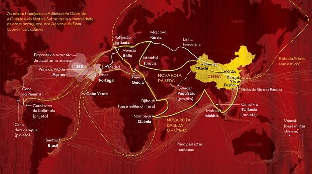 Portugal na nova rota da seda da China