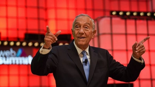 Marcelo Rebelo de Sousa no encerramento da Web Summit 2018