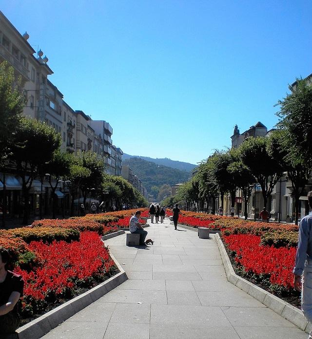 Cidade de Braga Portugal_Avenida Liberdade