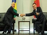 Presidentes do Brasil e de Portugal se reunem_Capa