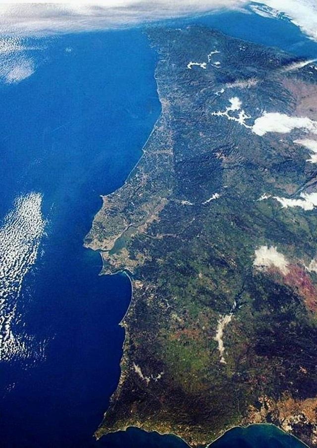 Ondas oceanicas Portugal