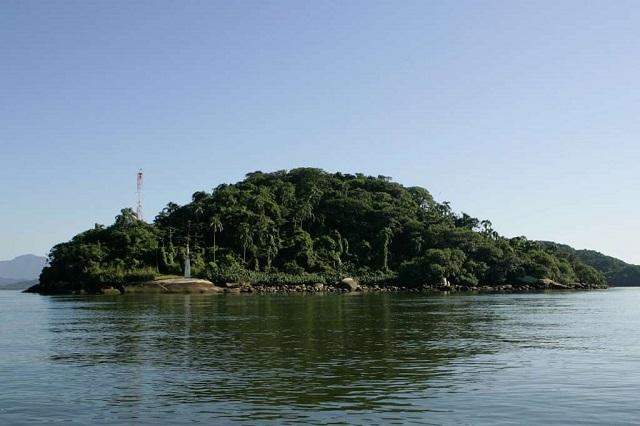 Foto Ilha das Cobras Litoral Paraná