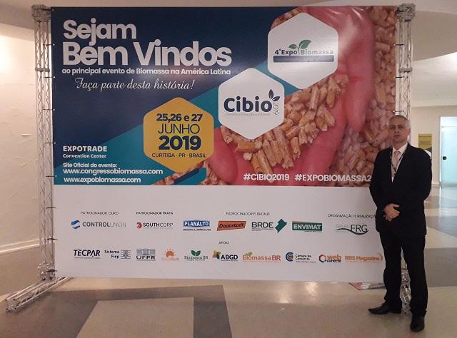 Vice-presidente Sr Adriano Fonseca na CIBIO 2019