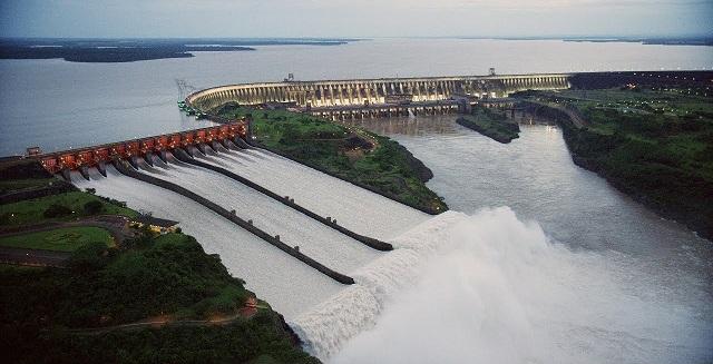 Usina de Itaipú=Paraná-Brasil