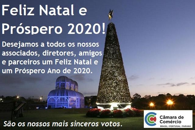 CCBP deseja a todos um Feliz Natal e um Prospero Ano de 2020