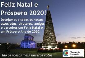 Feliz Natal e um Próspero Ano de 2020!