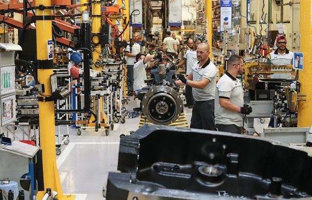 PR crescimento industrial